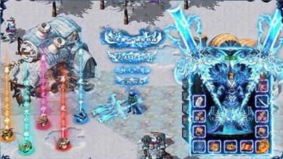 冰雪復古高爆版赤月龍城
