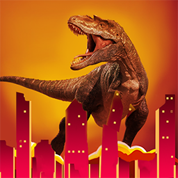 恐龍毀滅城市