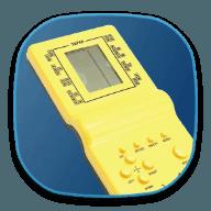 经典复古掌机方块游戏机